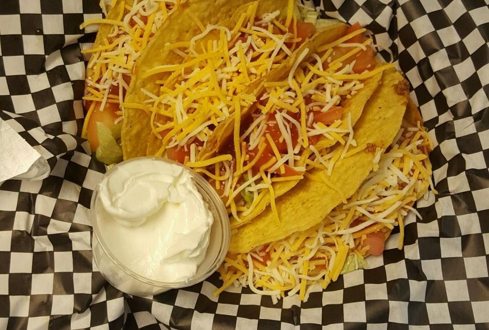 Wednesday: $1 Beef Taco, $2 Chicken Taco night, minimum of 3